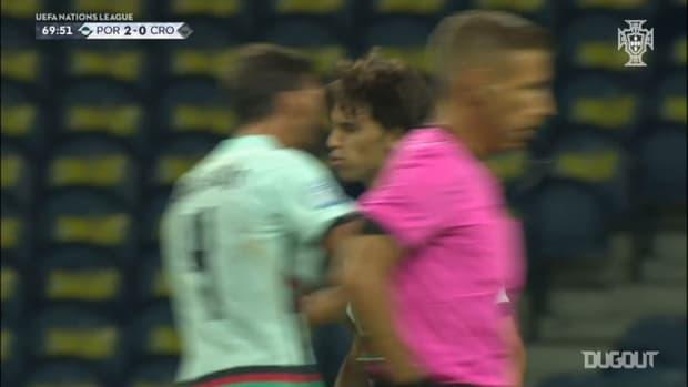 João Félix scores on Portugal's 2020/21 Nations League debut