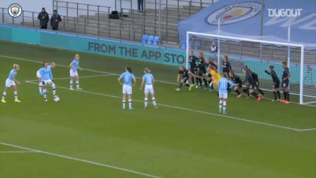 Manchester City Women score five in Brighton demolition