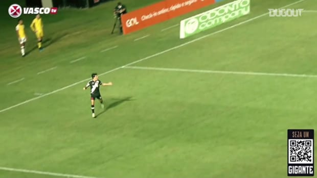 Germán Cano's goal for Vasco against Atlético-GO