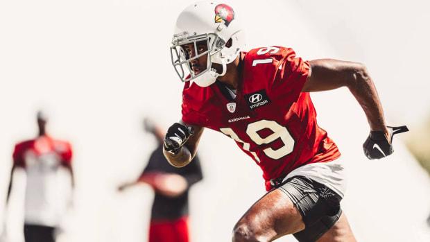 Arizona Cardinals wide receiver KeeSean Johnson