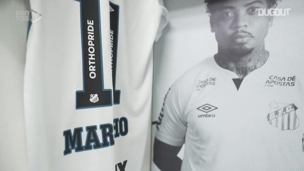 Behind the scenes of Santos' victory over Atlético-MG