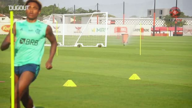 Flamengo's first session after beat Fluminense