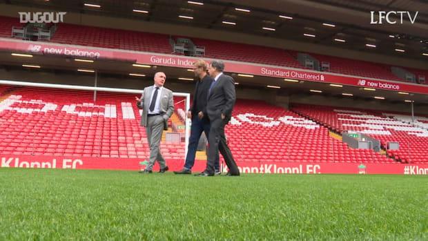 Jürgen Klopp's first day at Liverpool