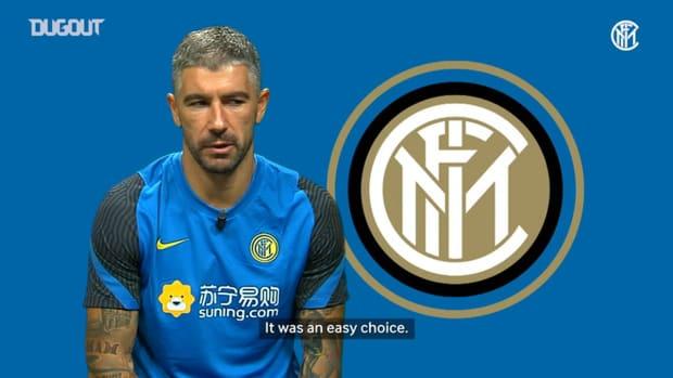 Aleksandar Kolarov glad to finally join Inter
