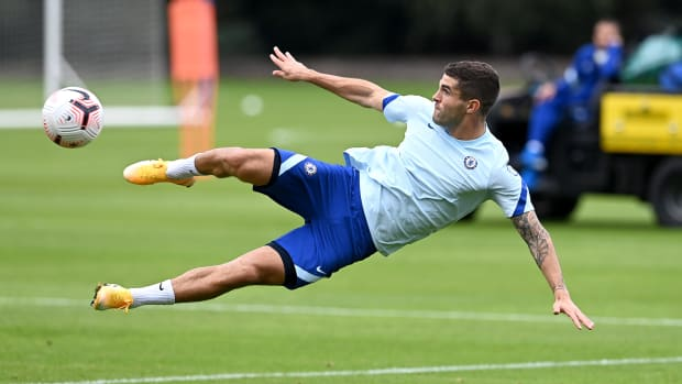 Christian Pulisic prepares for his second season at Chelsea