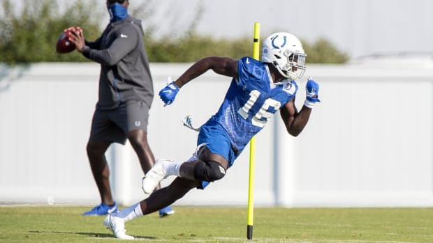 Indianapolis Colts second-year wide receiver Ashton Dulin earned a roster spot based on his versatility at the position, in special teams coverage, and as a returner.