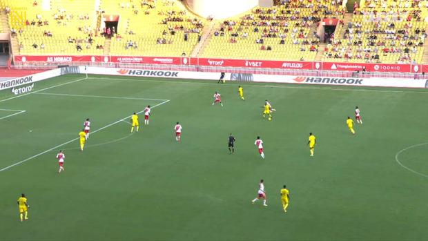 Ludovic Blas' acrobatic goal vs Monaco