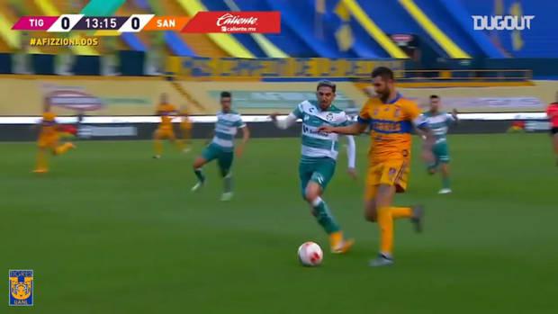 Tigres's 2-0 win vs Santos
