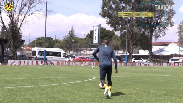 Paul Aguilar's incredible goals and dance moves in training
