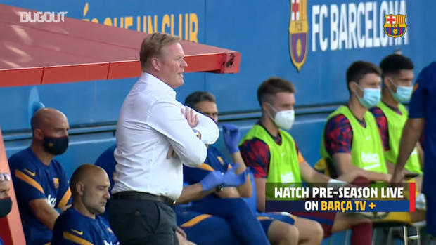 Koeman's first game in charge