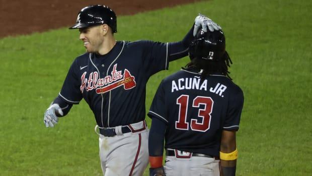 Atlanta Braves Freddie Freeman, Ronald Acuna Jr.