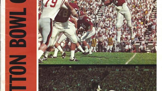 Alabama vs. Texas A&M, Cotton Bowl game program, Jan. 1, 1968