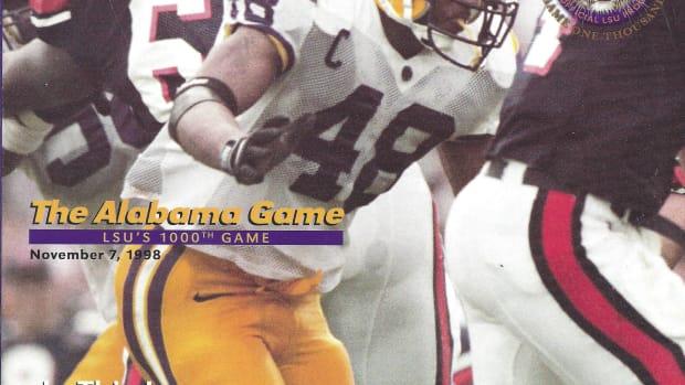 Alabama at LSU game program, Nov. 7, 1998