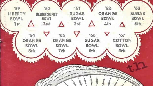 Alabama vs. Missouri, Gator Bowl media guide, Dec. 28, 1968