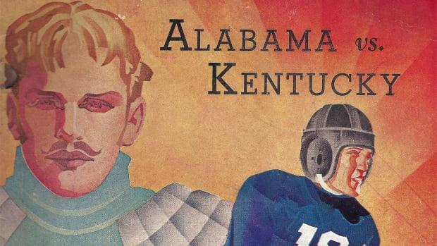 Kentucky at Alabama, game program, Oct. 30, 1937