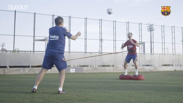 Barça's activity returns