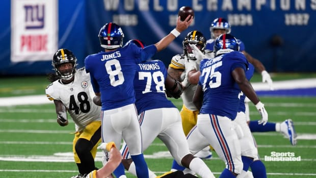 Giants Need Better Showing From Offensive Line