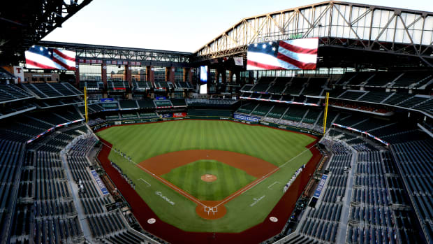 Globe Life Field in Arlington, Texas is set to be home to the World Series in the 2020 MLB playoffs.