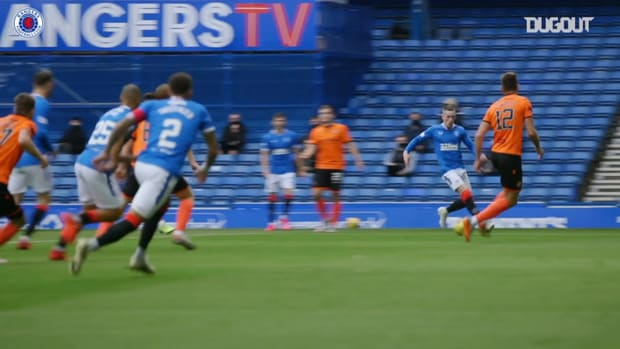 Ryan Kent finishes off flowing Rangers move vs Dundee Utd
