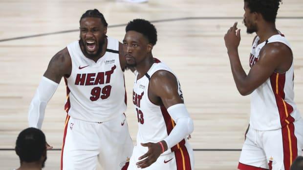 Miami Heat win Game 1