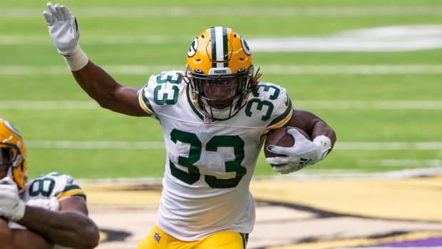 Aaron Jones, Green Bay Packers, Fantasy Football