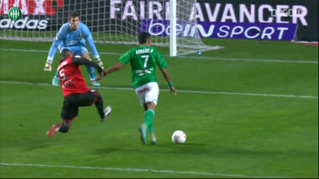 Aubameyang contributes to Saint Etienne win vs Rennes in 2012