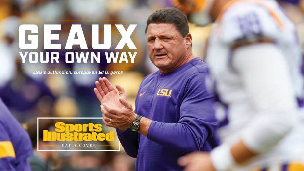 Geaux Your Own Way: LSU's outlandish, outspoken Ed Orgeron