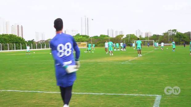 Goiás' training session ahead of Flamengo clash
