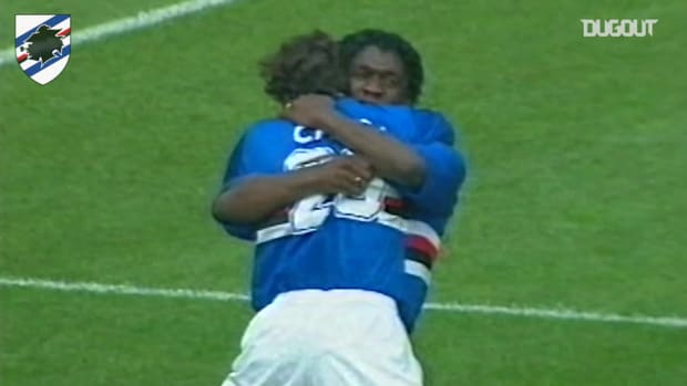 Clarence Seedorf blasts home against Juventus