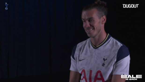 Gareth Bale's first interview on return to Spurs