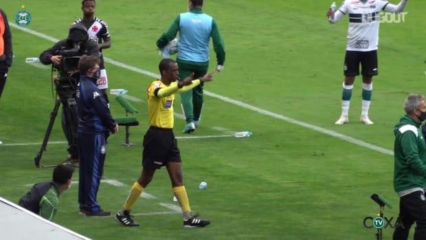 Coritiba beat Vasco at Couto Pereira