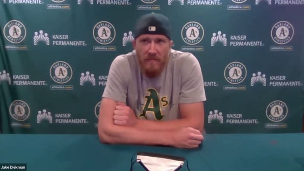 Jake Diekman's tale of attacking and executing