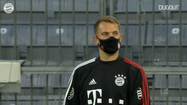FC Bayern stars take safety measures ahead of Bundesliga opener