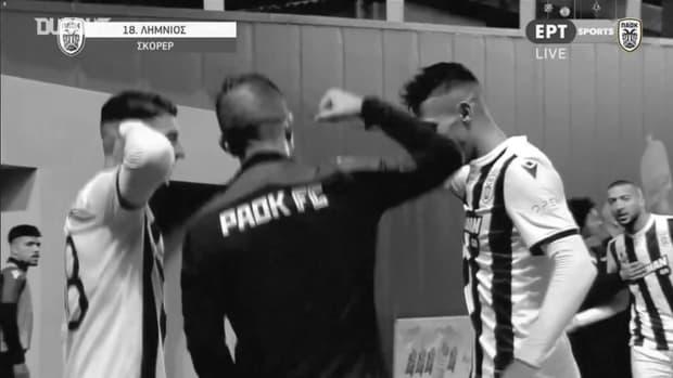 Dimitrios Limnios' farewell to PAOK