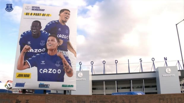 Behind the scenes of James Rodríguez's Goodison Park debut