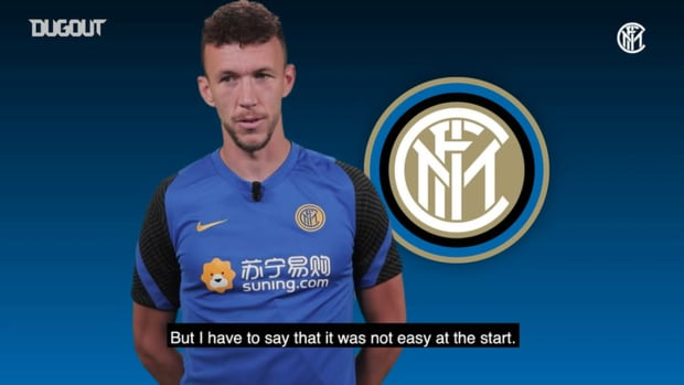 """Ivan Perisic Inter TV interview: """"I'm very happy to be here again"""""""