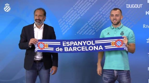 RCD Espanyol sign Keidi Bare