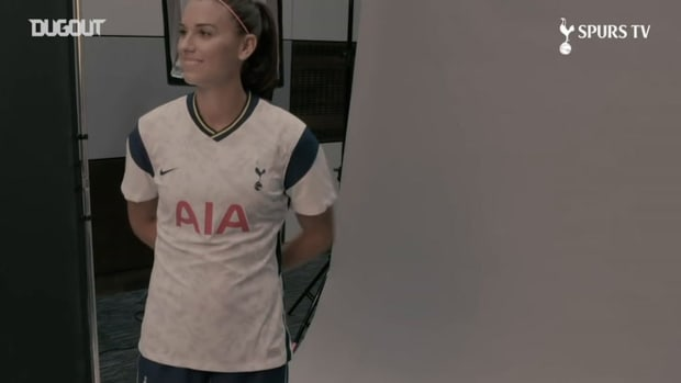 Behind the scenes at Alex Morgan's first day at Spurs