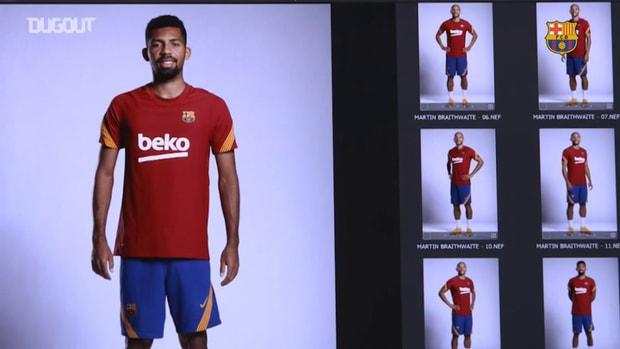 Barça's shooting day