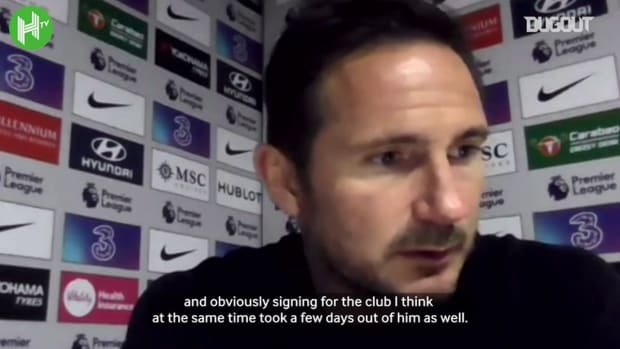 Frank Lampard delighted with Kai Havertz goals, Thiago Silva's leadership
