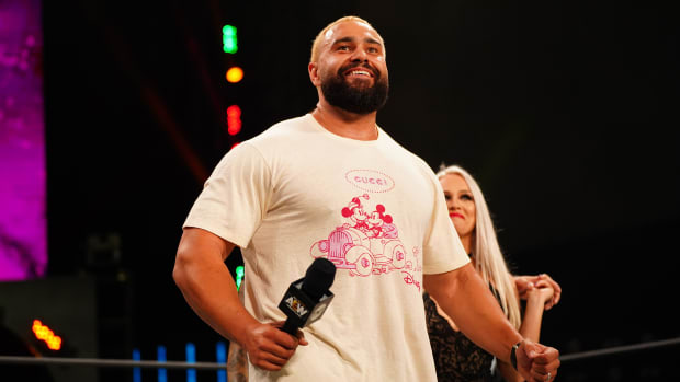 AEW's Miro (formerly Rusev) in the ring on Dynamite