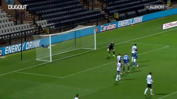 Jahanbakhsh lashes home in Brighton's win over Preston