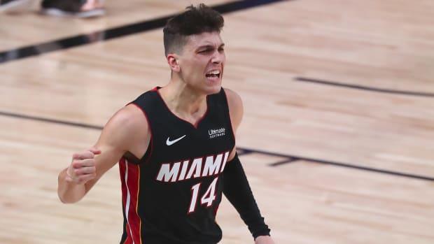 Heat win game 4_Tyler Herro