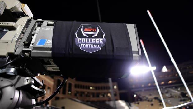 Football TV camera