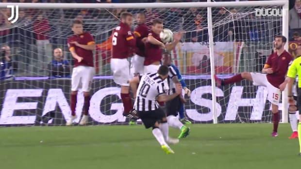 Juventus' best goals vs Roma at the Stadio Olimpico