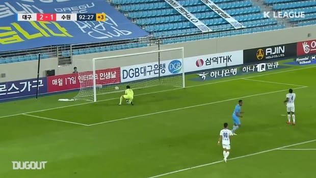 All Dejan Damjanovic goals for Daegu this season