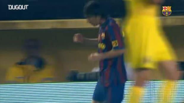 Messi's brace help Barcelona beat Villarreal