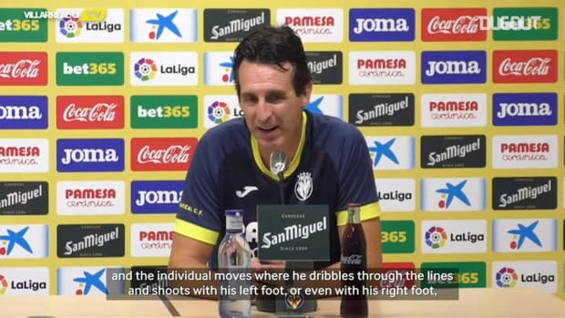 Unai Emery on trying to stop Messi