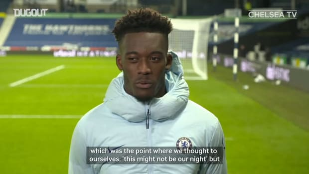 Hudson-Odoi on 'crazy' West Brom game, relationship with Havertz and geld squad