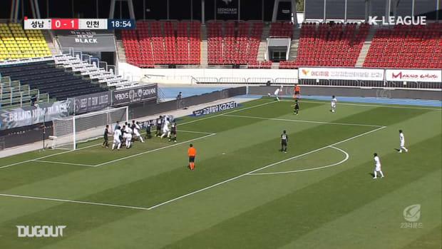 Magnificent Mugoša hat-trick strikes down Seongnam